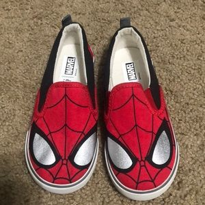 Brand new Spiderman shoes from gap size 10